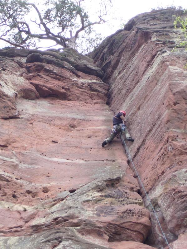 Klettern In Der Pfalz
